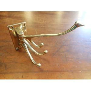 Folding Hook - Polished Brass OR Antique Brass