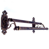 Classic Towel Rail - Double - Antique Brass