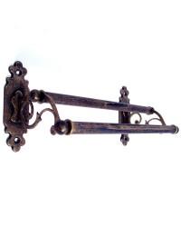 Classic Towel Rail - Double - Antique Brass