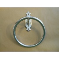 Classic Towel Ring - Antique Silver Plate