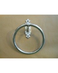 Classic Towel Ring - Aged Silver