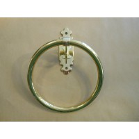 Classic Towel Ring - Polished Brass