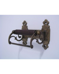 Classic Toilet Roll Holder - Antique Brass