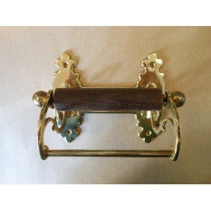 Classic Toilet Roll Holder - Polished Brass