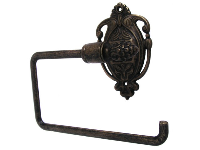 Nouveau toilet roll holder antique brass Antique toilet roll holders