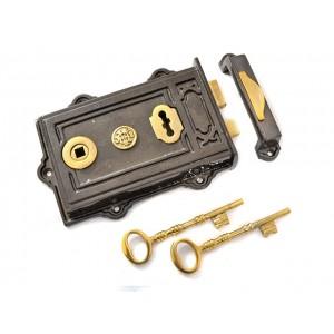 Davenport Iron Rim Lock