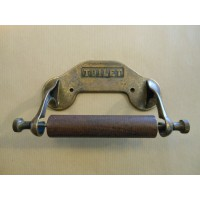 Toilet Roll Holder - Antique Brass