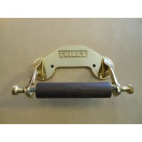 Toilet Roll Holder - Polished Brass