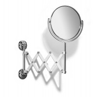Traditional Extending Bathroom  Mirror - Chrome Plated - Samuel Heath L110CP