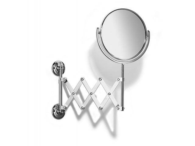 Traditional Extending Bathroom Mirror Chrome Plated Samuel Heath L110CP