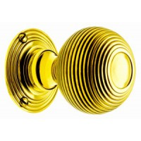 Imperial Door Knobs - Brass - Mortice & Rim
