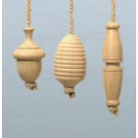 Oak Light Pull - Jute Rope