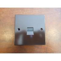 'Bakelite' Telephone Master Socket - Square Edged