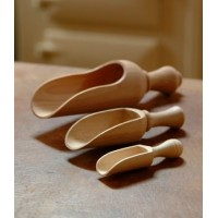 Wooden Scoop - Beech - Medium