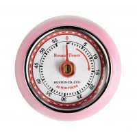 Magnetic Retro Timer - Pink