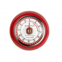 Magnetic Retro Timer - Red
