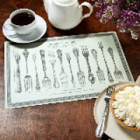 Paper Placemats - Cutlery Designs