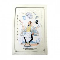 Tea Towel - Juggling Mr Town Talk