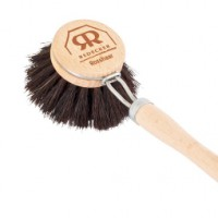 Wooden Washing Up Brush - Horse Hair - 50mm