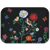 Birchwood Tray - Songbird & Wildflowers - Nathalie Lete - Small