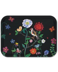 Birchwood Tray - Song Bird & Wildflower - Nathalie Lete