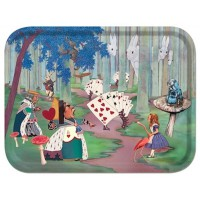 Birchwood Tray - Alice Lost in The Woods - Louise Kirk