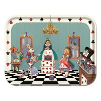 Birchwood Tray - Alice In The Court Of Hearts  - Louise Kirk