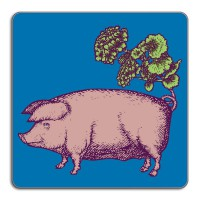 Puddin'Head Placemat - Suidae - Pig