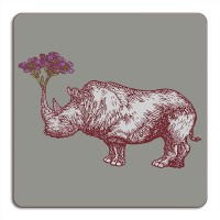 Puddin'Head Placemat - Rhino