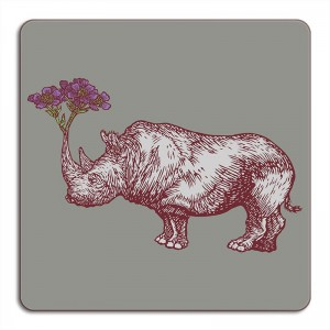 Puddin'Head Placemat - Rhino