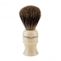 Carter & Bond The 'Sandringham' Shaving Brush - Pure Badger Hair