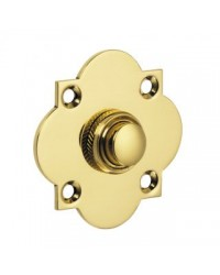 British Made - Quatrefoil Bell Push