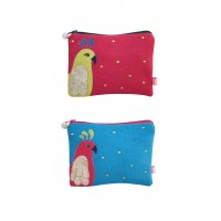 Coin Purse - Parrot - 2 Colours Available