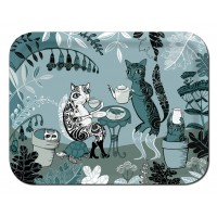 Ary Tray - Lush Designs - Cats - Rectangular