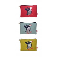 Coin Purse - Puffin - 3 Colours Available