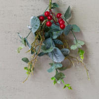 Red Berry & Eucalyptus Sprig