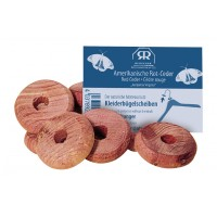 Red Cedar Clothes Hanger Discs * - Moth Protection