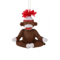 Serenity Sock Monkey Ornament - Collection from Store Only