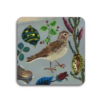 Birds in the Dunes Coaster - Short Toed Lark