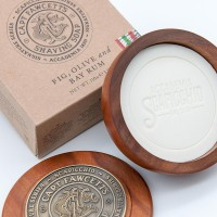 'Captain Fawcett Ltd' - Scapicchio's Fig, Olive and Bay Rum Shaving Soap – 110g