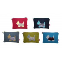 Coin Purse - Scottie Dog - 5 Colours Available