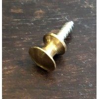 Tiny shutter knob – Polished Brass