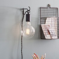 Soho Wall Light/Hanging Pandant - Black
