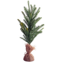 Faux Pine Tree with Sacking Pot - 50cm