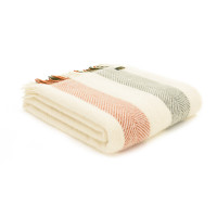 Stripes Throw - Pure New Wool - Woodland