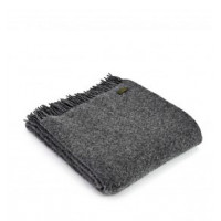 Wafer Throw - Pure New Wool - Laurel Green or Slate