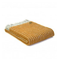 Treetop Throw - Pure New Wool - Mustard or Navy