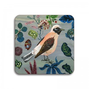 Birds in the Dunes Coaster - Wheatears