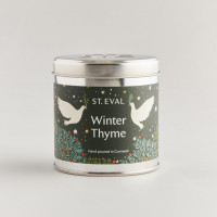 Scented Christmas Tin Candle - 4 Fragrances
