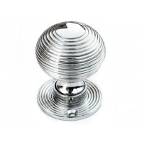 Beehive Door Knob - Nickel - Standard - Mortice & Rim